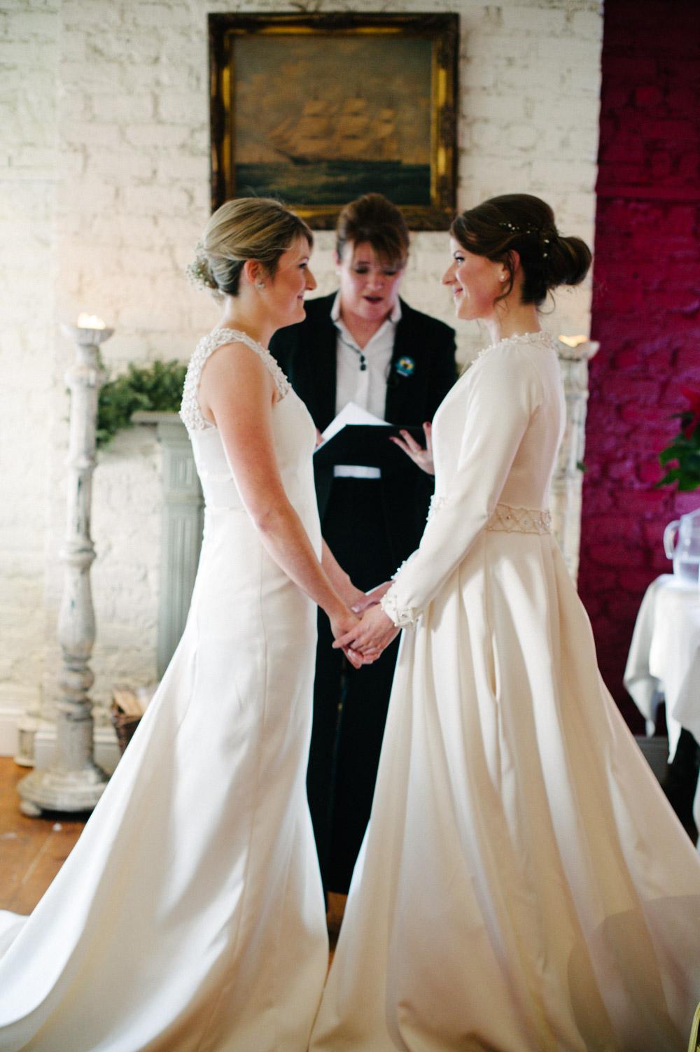 Same Sex Wedding Ceremony Photograph in Dublin