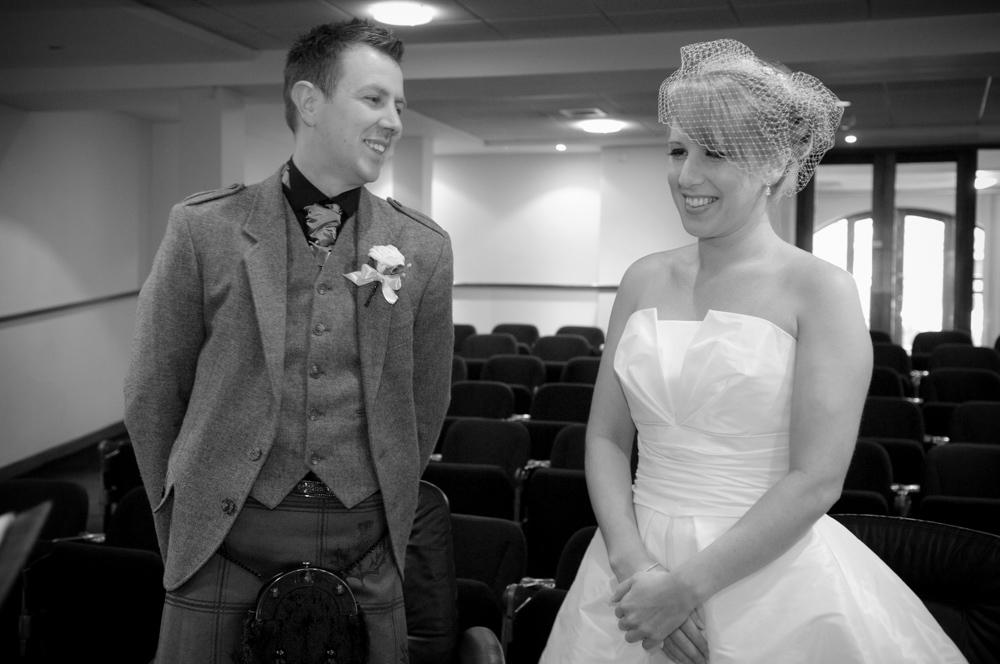 Registry Office Wedding Ceremony Photography