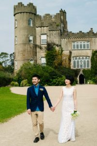 A Malahide Castle Wedding Photograph