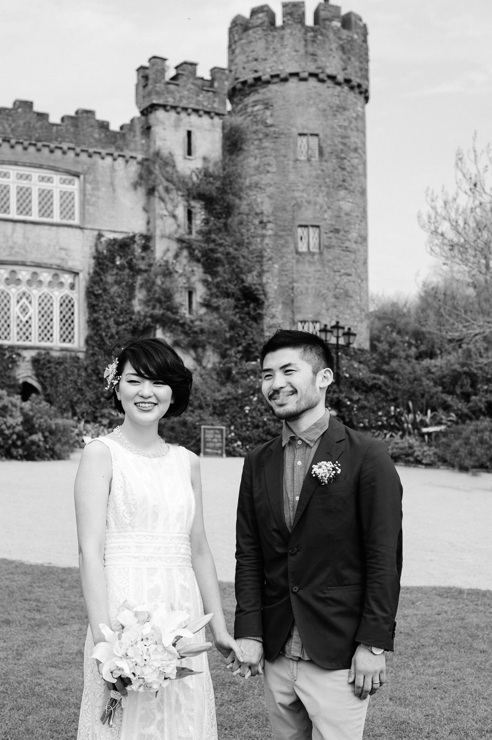 A Malahide Castle Wedding Portrait