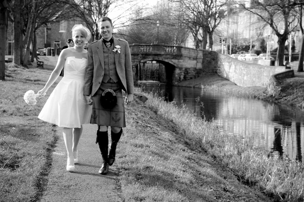 City Centre Wedding Photography in Dublin