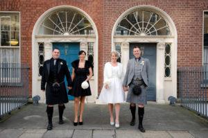 Dublin City Centre Wedding Photography