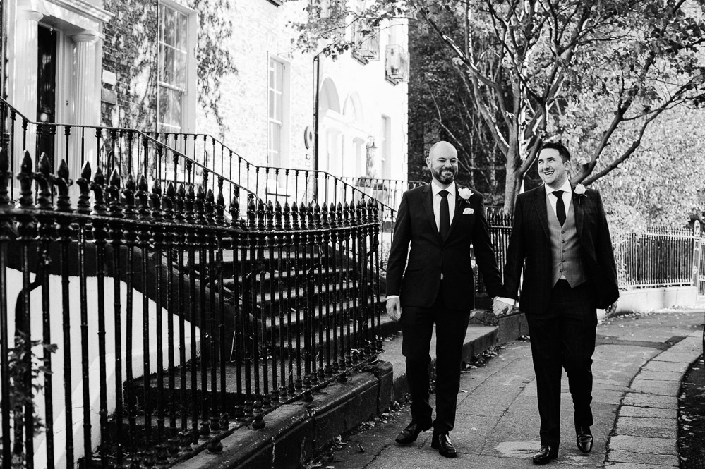 Dublin Registry Office Same Sex Wedding Photograph