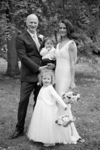 Dublin Registry Office Wedding Family Portrait