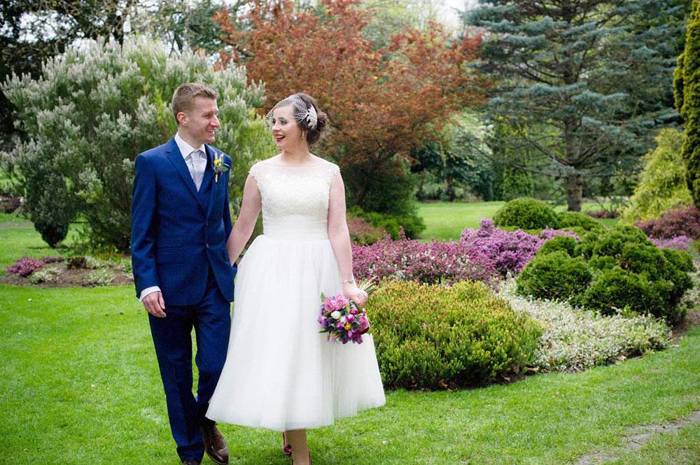 Dublin Registry Office Wedding Photography in Merrion Square Park in Dublin