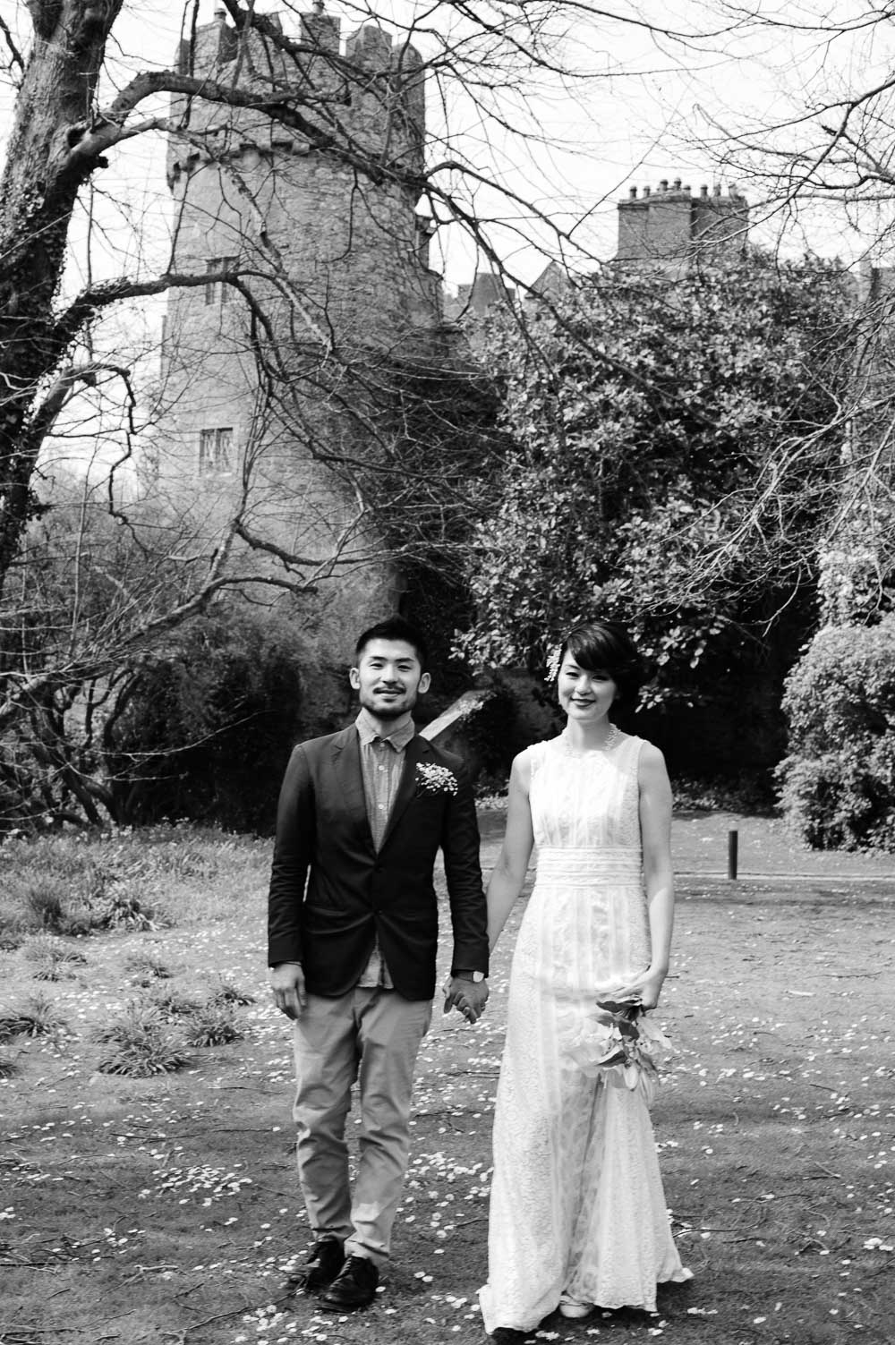 Malahide Castle Wedding Photo