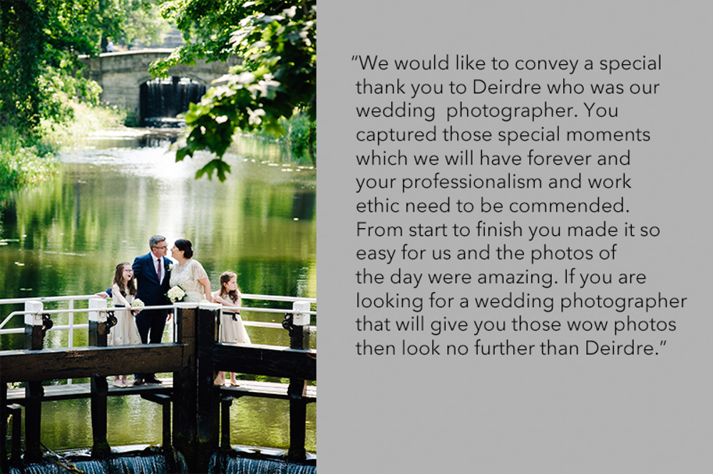 Registry Office Dublin Wedding Photograph