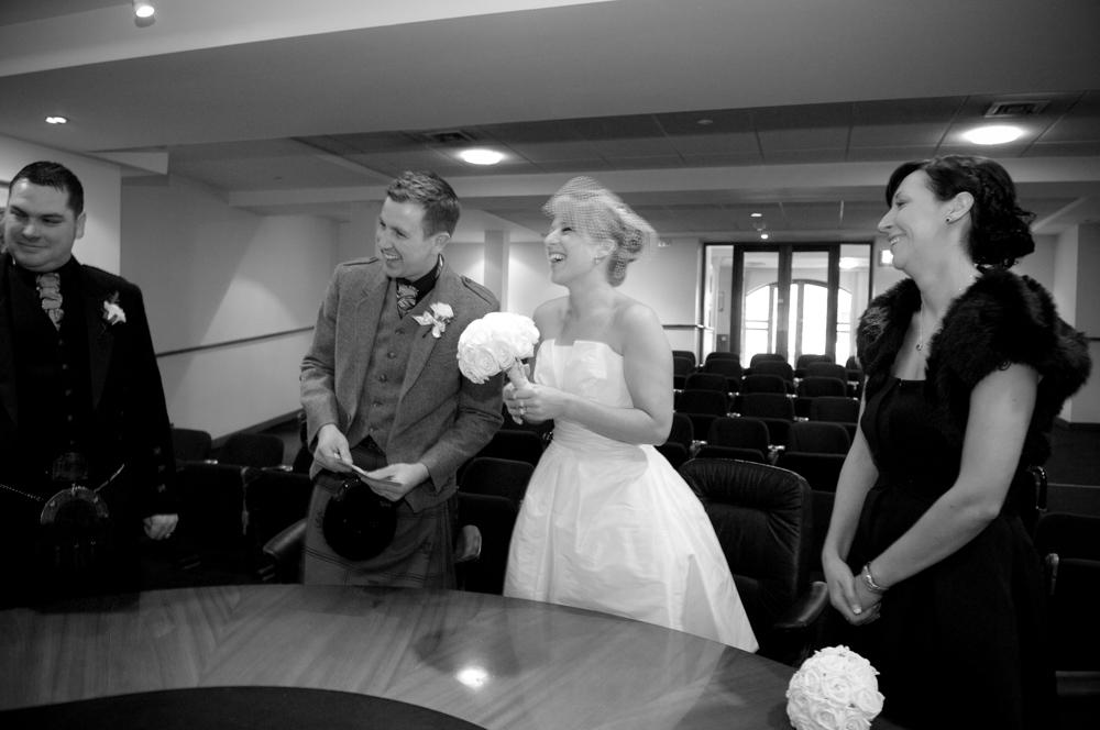 Registry Office Wedding Ceremony Photo