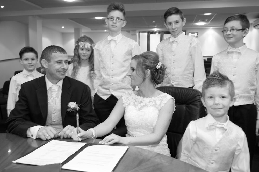 Registry Office Wedding Ceremony in Dublin