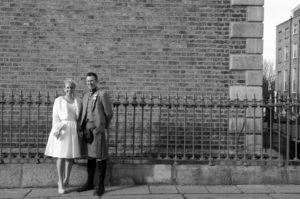 Wedding Photography on Mount Street in Dublin