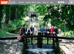 Dublin Registry Office Wedding Group Portrait