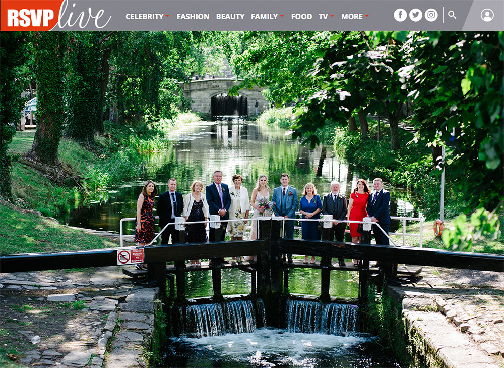 Dublin Registry Office Wedding Group Portrait