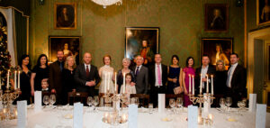 Christmas wedding party at The Shelbourne Hotel In Dublin
