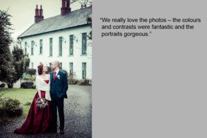 Christmas Wedding Photographer in Carlingford