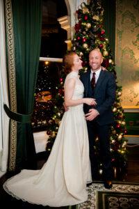 Christmas Wedding Photographer in Dublin