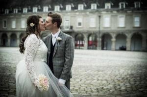 Dublin Micro Wedding Photo in the grounds of The Royal Hospital Kilmainham