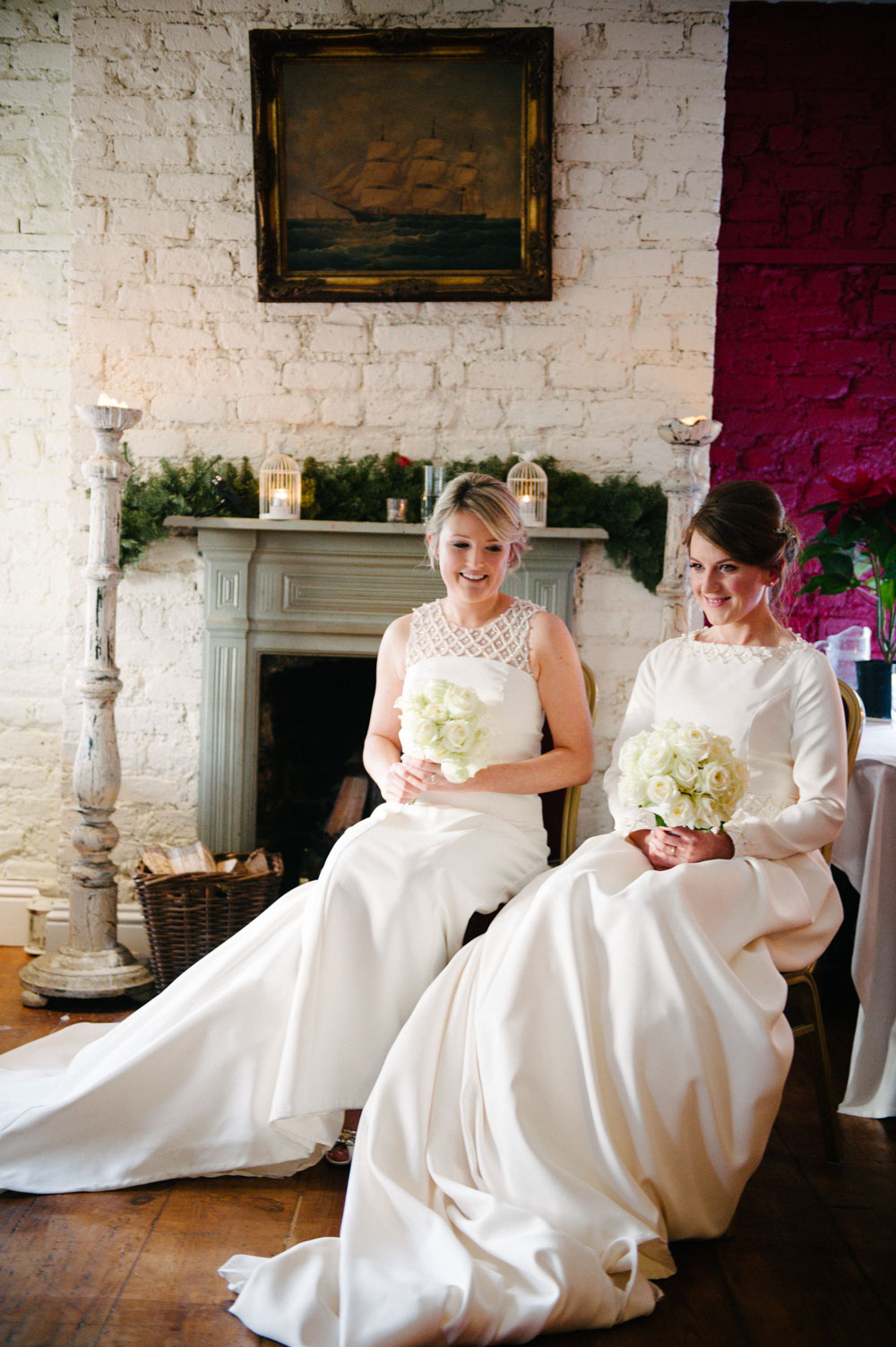 LGBT Wedding Photo at The Anglers Rest in Dublin