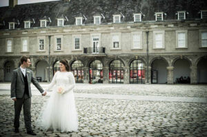 Micro Wedding Photography at The Royal Hospital Kilmainham