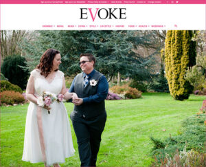 Evoke Real Wedding Feature