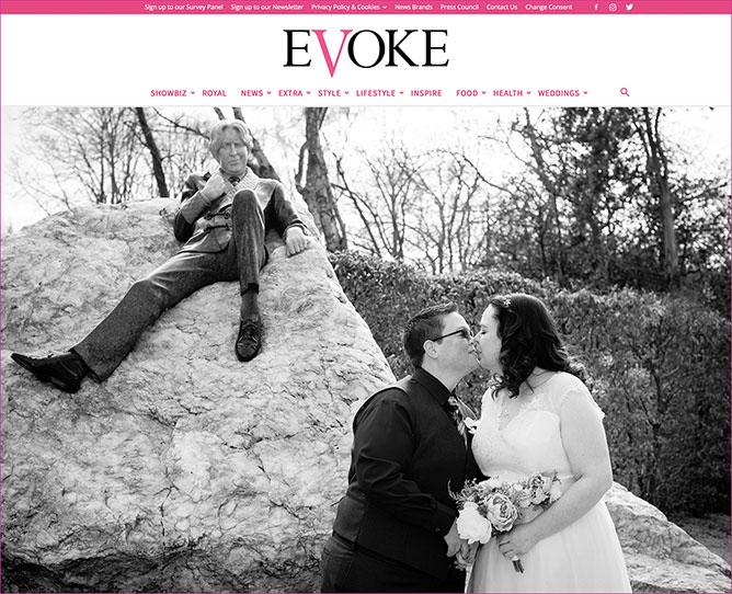 Evoke.ie Real Weddings Feature Story
