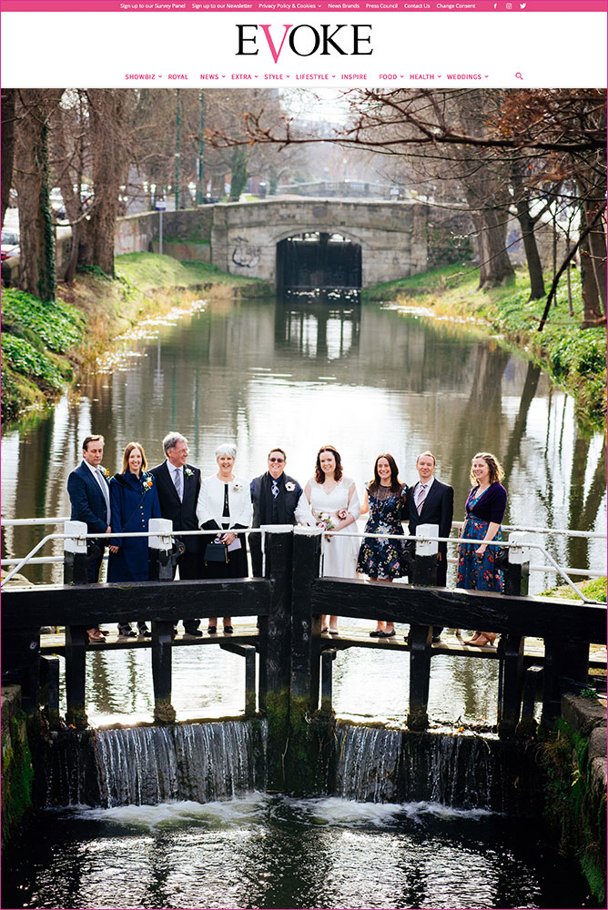 Evoke.ie Real Weddings Feature