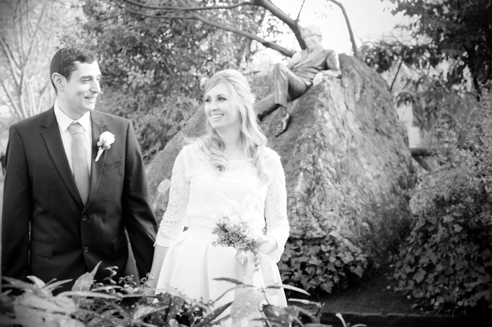 2021 Dublin Registry Office Wedding Photography in Merrion Square Park