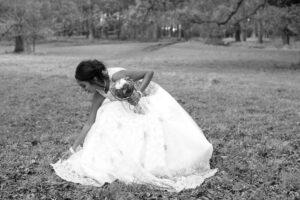 Bridal Portrait in The Phoenix Park Dublin