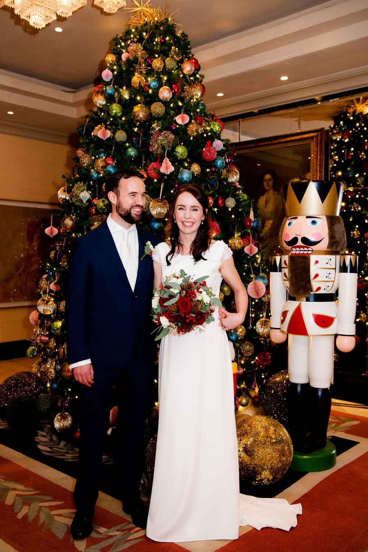 Westbury Hotel Christmas Wedding