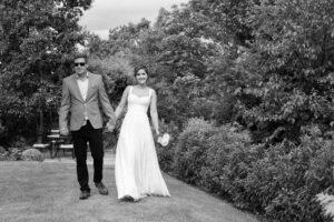 Garden Wedding Photographer in Dublin